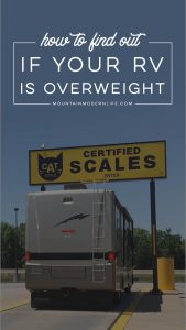 Tips and Resources on Where and How to Weigh Your RV