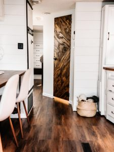 If white paint, various wood tones, and lots of texture is your thing, you'll love these rustic camper remodels! Photo Source: This Little Adventure
