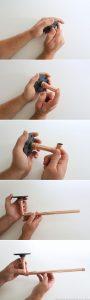 Rustic Modern DIY Paper Towel Holder using Copper Pipe Fittings | MountainModernLife.com