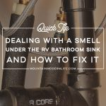 how to get rid of that funky smell under rv bathroom sink