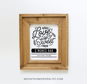 Love is Sweet Printable | MountainModernLife.com