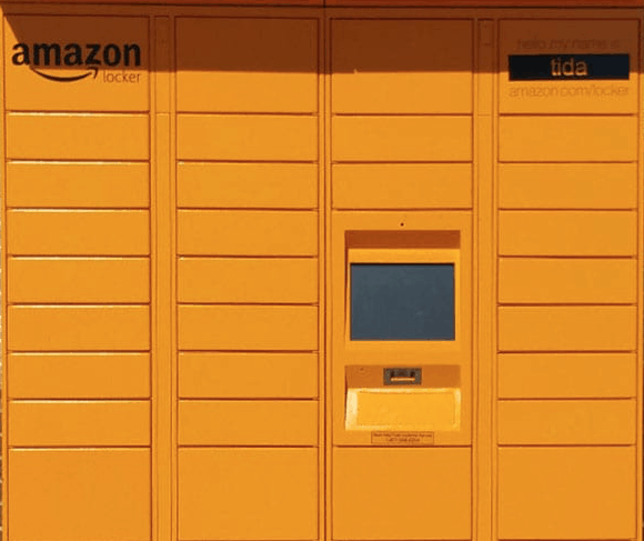 Amazon Locker - This is a great option for RV'ers!