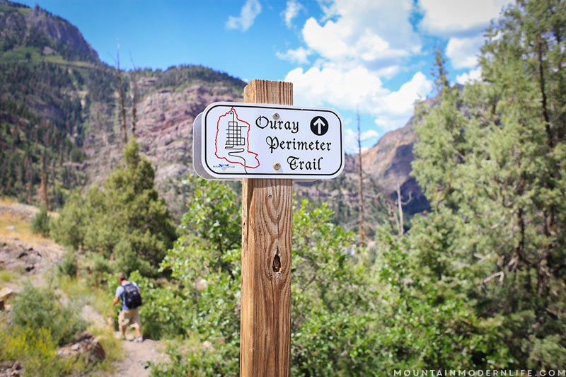 """Planning a trip to Colorado? Don't miss out on Ouray, a majestic mountain town often referred to as """"America's Switzerland"""". MountainModernLife.com"""