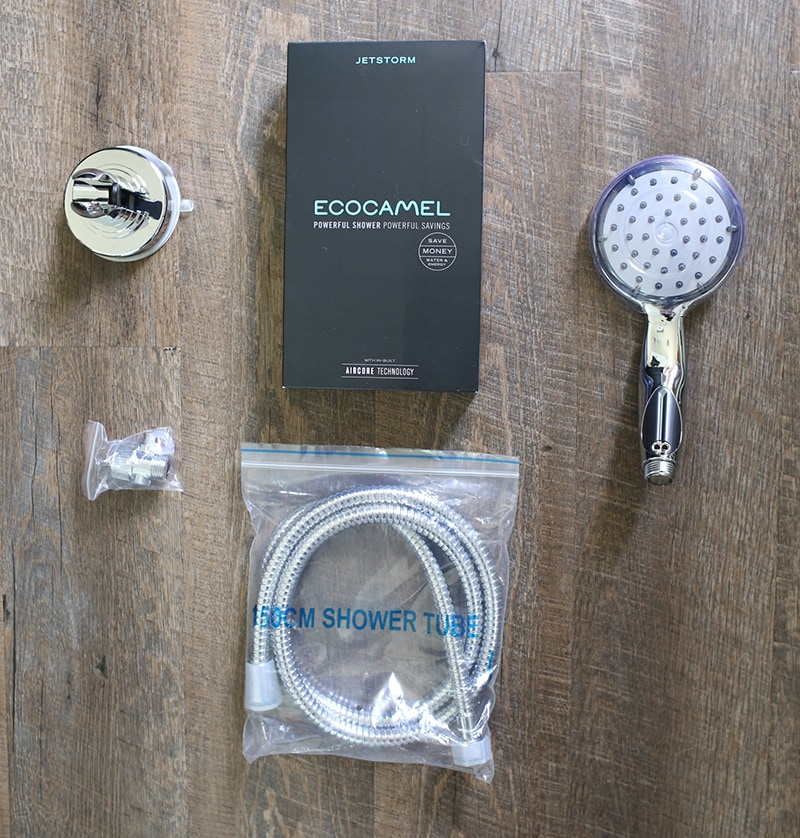 Could your RV shower use an upgrade? Come see how easy it is to replace your RV shower head and hose, plus find out if the EcoCamel Jetstorm is worth it! MountainModernLife.com