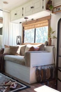 wood framed RV windows