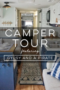 Design Vibes: Tour this renovated camper from Gypsy and a Pirate!