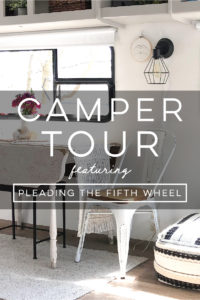 Design Vibes: Tour this renovated camper from Pleading the Fifth Wheel!