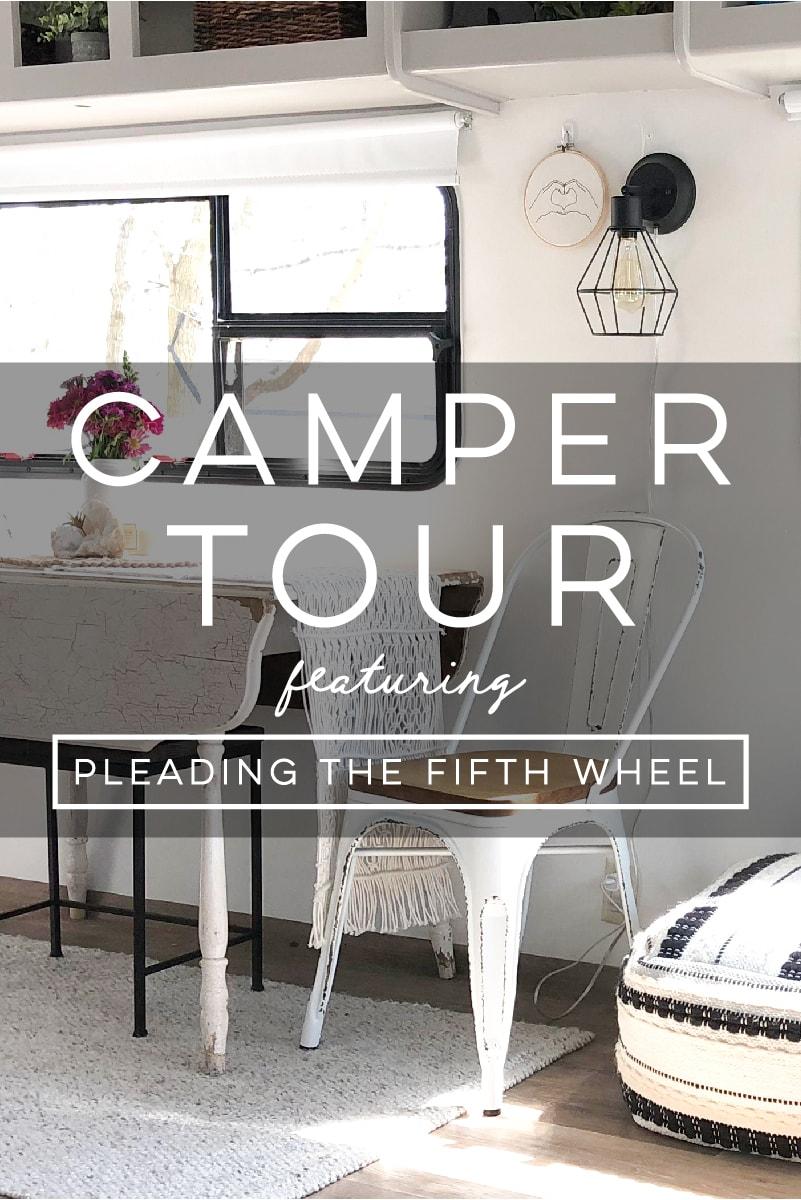 Tour this Modern Boho Fifth Wheel