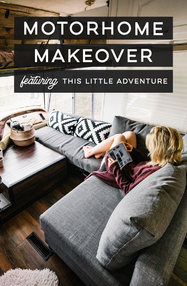 creative motorhome makeover