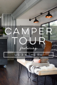 Design Vibes: Tour this renovated camper from Us 3 + the RV!