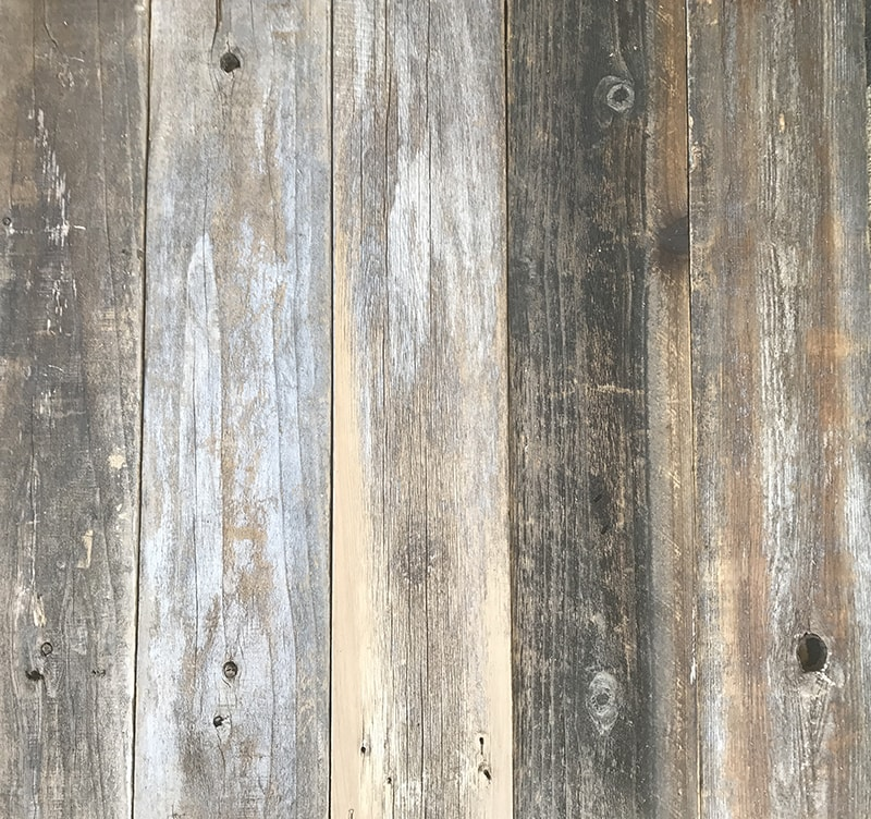 Reclaimed wood for kitchen cabinets