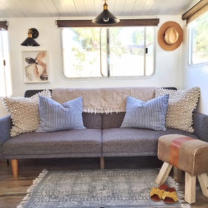 Tour this Renovated Travel Trailer from Kalifornia Kountry Featured on MountainModernLife.com
