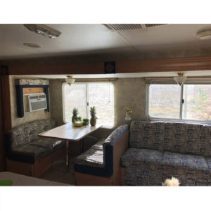 Tour this Renovated California Country Travel Trailer from Kalifornia Kountry Featured on MountainModernLife.com