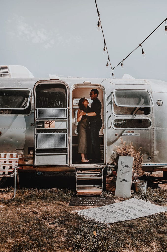 Modern Eclectic Airstream Renovation from Genuinely Ginger   Photo by Zoya Dawn   Featured on MountainModernLife.com