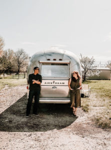 Modern Eclectic Airstream Renovation from Genuinely Ginger | Photo by Zoya Dawn | Featured on MountainModernLife.com