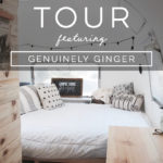 Design Vibes: Tour this Airstream Renovation from Genuinely Ginger!