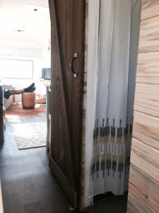 Tour this Modern Eclectic Airstream Renovation from Genuinely Ginger | Featured on MountainModernLife.com
