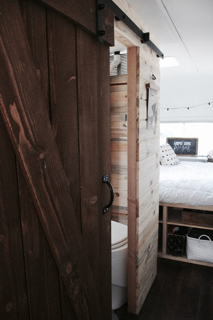 Tour this Modern Eclectic Airstream Renovation from Genuinely Ginger   Featured on MountainModernLife.com