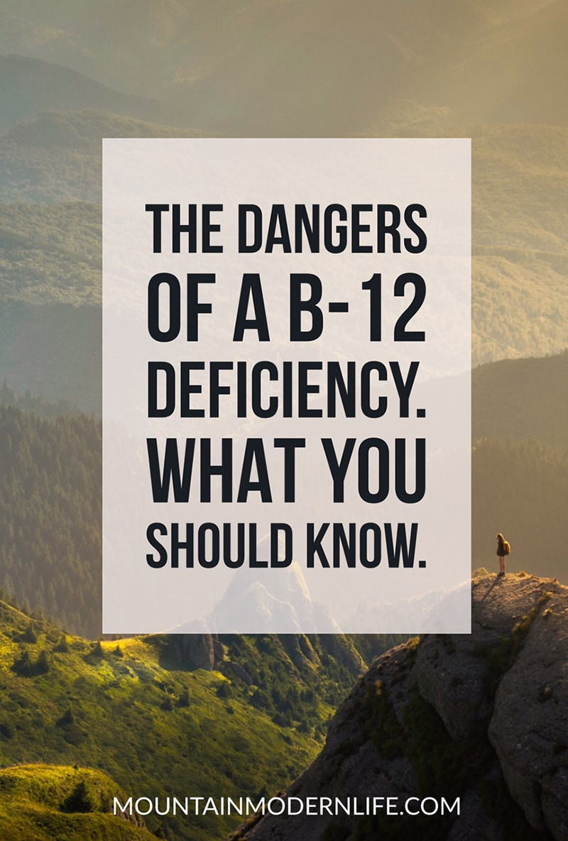 The Dangers of a B12 Deficiency and why it could be more serious than you think