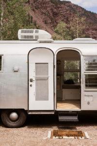 Camper Tour: Meet Miss Marjorie, a 1962 Airstream Reimagined by an Artist and Textile Designer, Bonnie Christine!