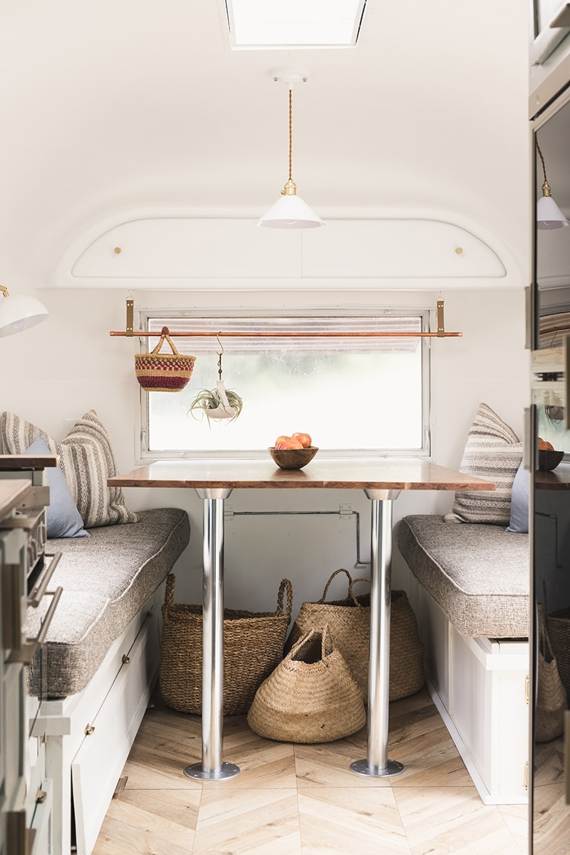 Tour this romantic Airstream that has been reimagined by an artist and textile designer, Bonnie Christine!