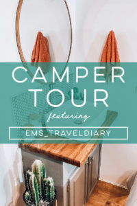Design Vibes: Camper Tour Featuring ems_traveldiary on MountainModernLife.com