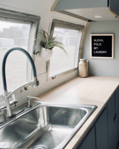 Camper Tour: Meet Magdalene the Airstream (for sale!), a vintage trailer renovated by Steady Streamin' Cashios! | Featured on MountainModernLife.com
