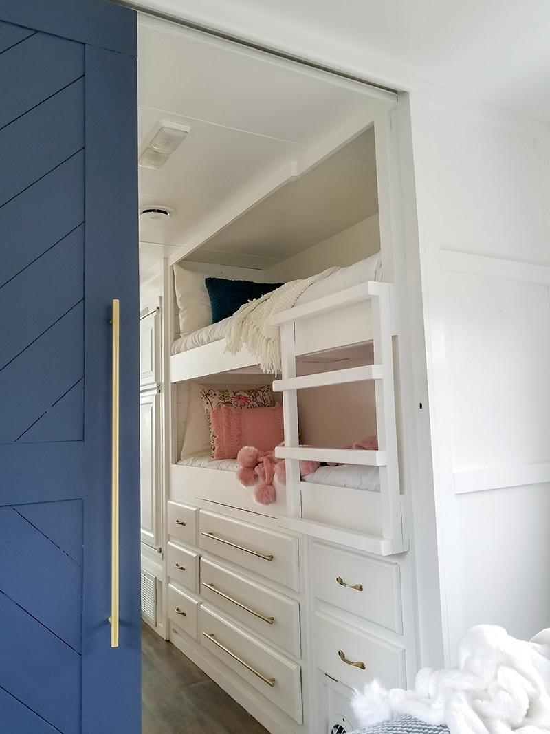 Renovated RV bunkhouse