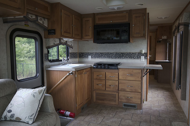 Tiffin Allegro Openroad 32LA RV Tour (Before Reno) - Come see what our motorhome looks like before we transform it into a rustic modern motorhome! MountainModernLife.com