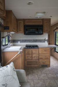 Come see how an outdated RV was transformed into a Mountain Modern Motorhome! #RVremodel #RVrenovation #camperremodel #camperrenovation #campermakeover #RVmakeover #mountainmodernlife #rusticmodern #mountainmodern #tinyhome #beforeafter