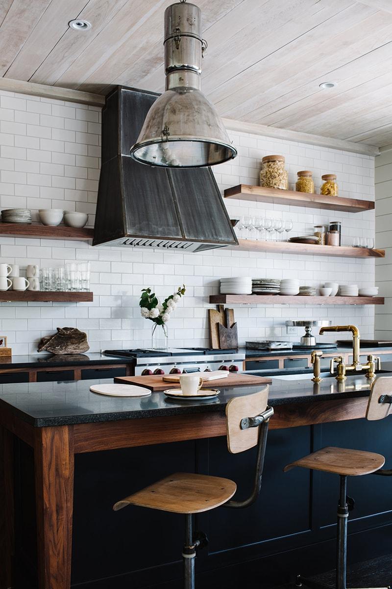 Modern Rustic Kitchen - Source: Epple Residence - Smith Hanes Studio/ Photo byAndrew Thomas Lee