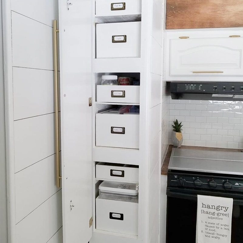 RV kitchen inspiration