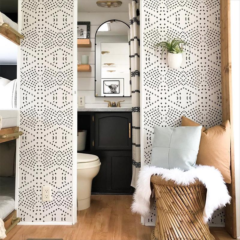 camper bathroom renovation