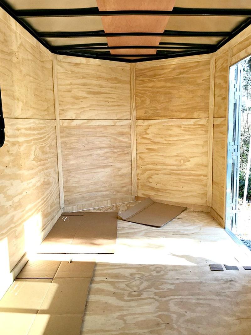 Cargo Trailer Camper Conversion from @ChatfieldCourt