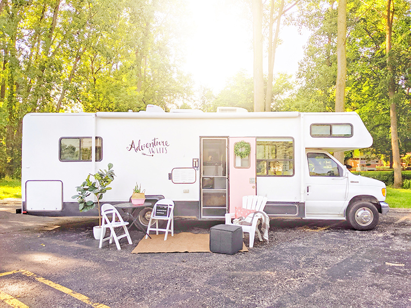 Stylish RV Makeover from Sarah Lemp of All Things with Purpse