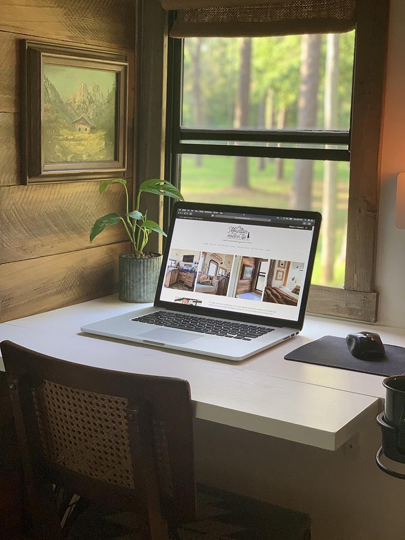 DIY modular desk