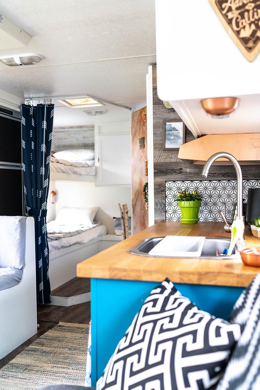 remodeled camper