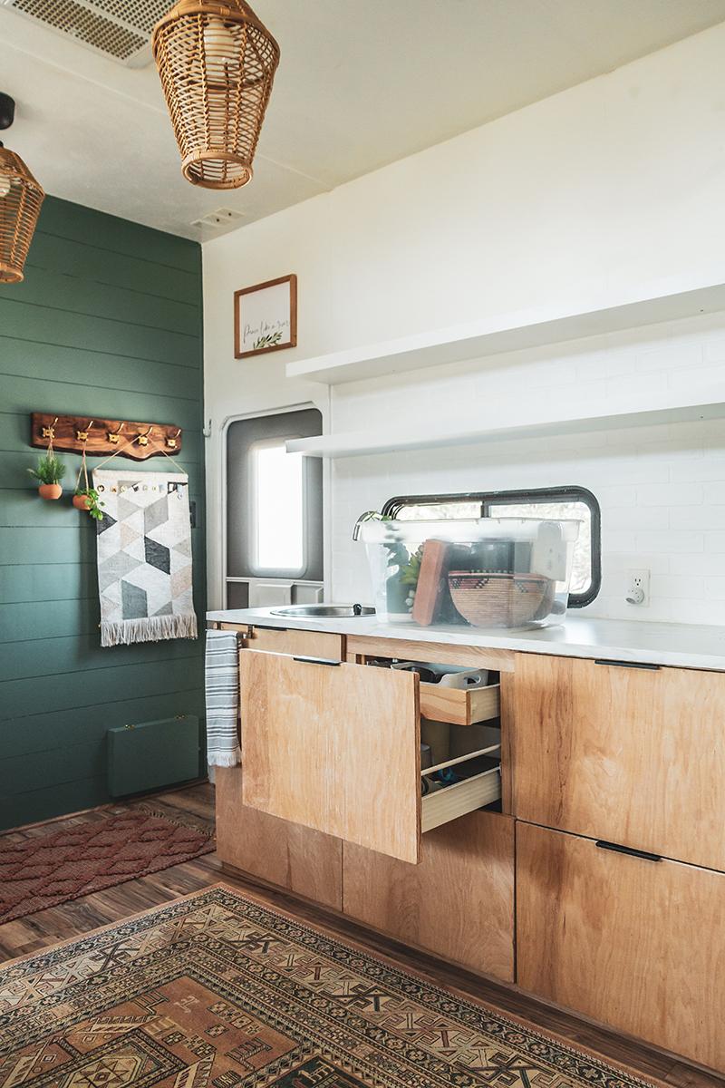 RV Kitchen Reno