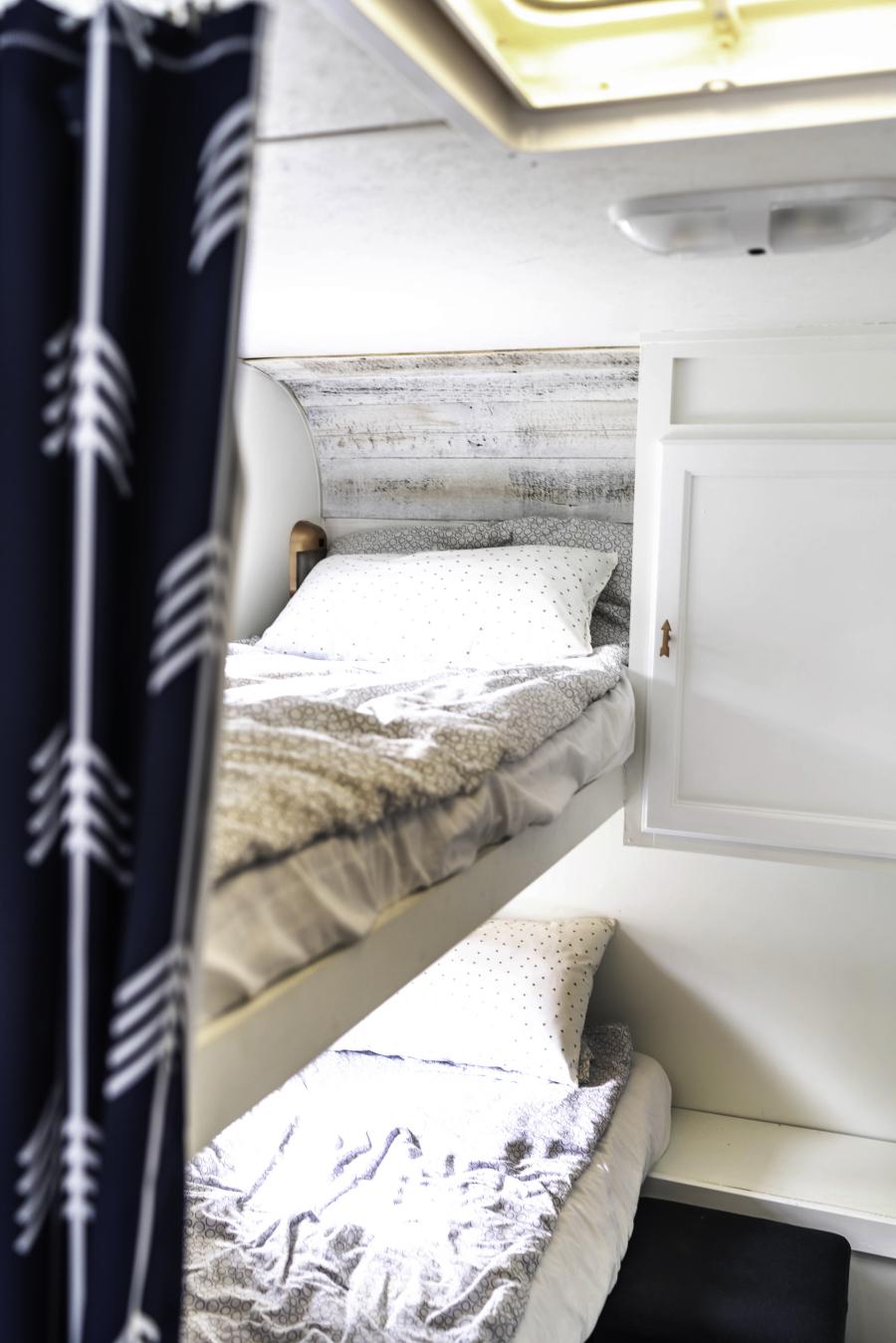 travel trailer bunkhouse renovation