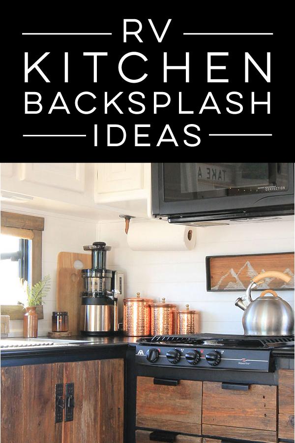 RV kitchen backsplash ideas