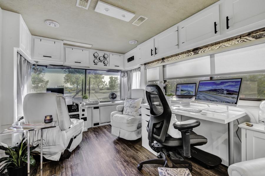 Contemporary RV Renovation featuring RVLove