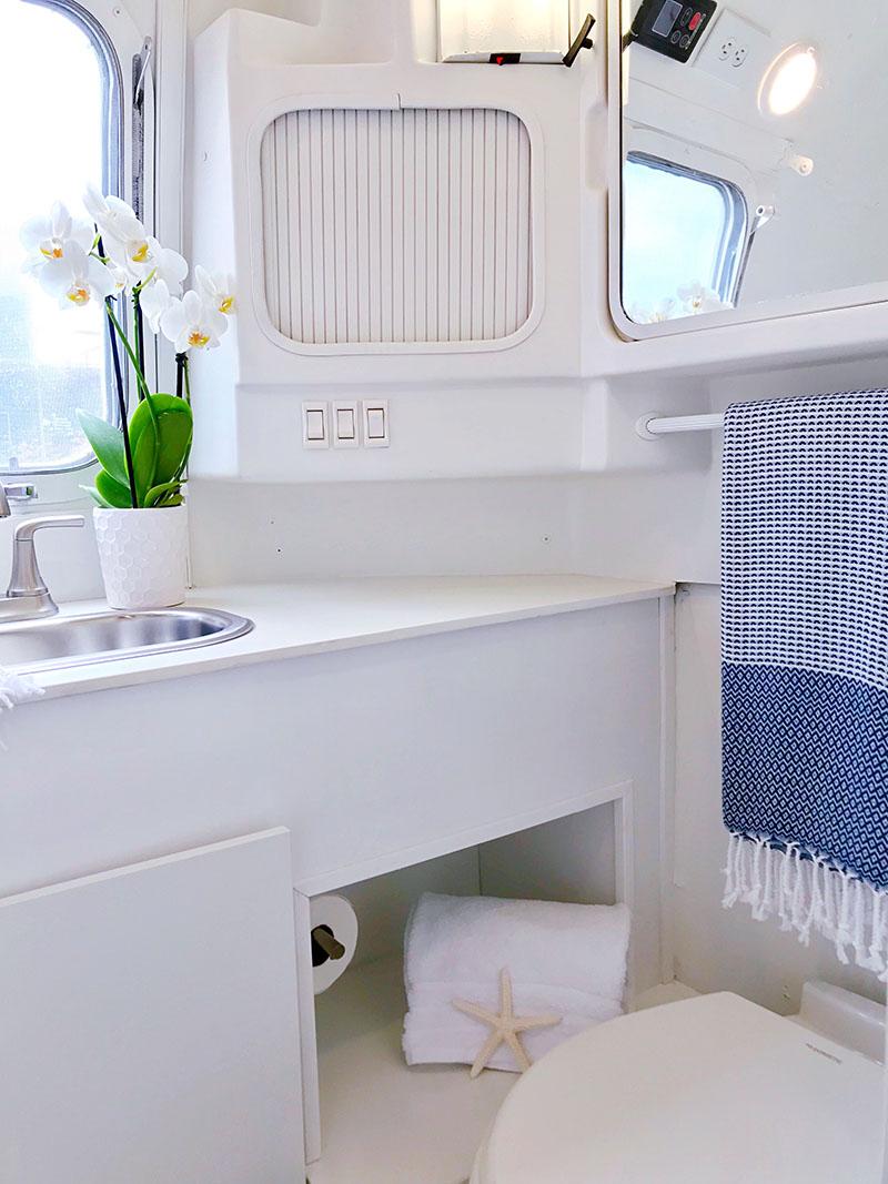 nautical airstream bathroom
