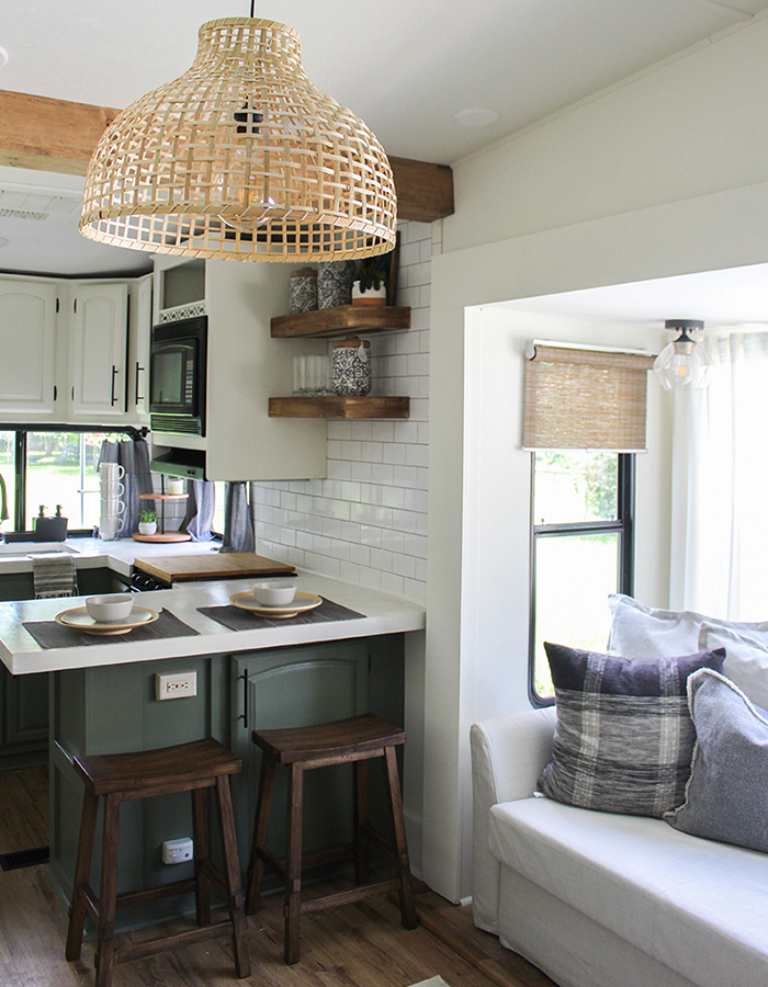 RV Kitchen Remodel from @karleemmarsh