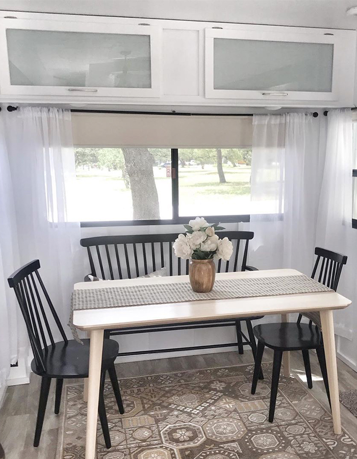 5th Wheel Dinette Booth Remodel