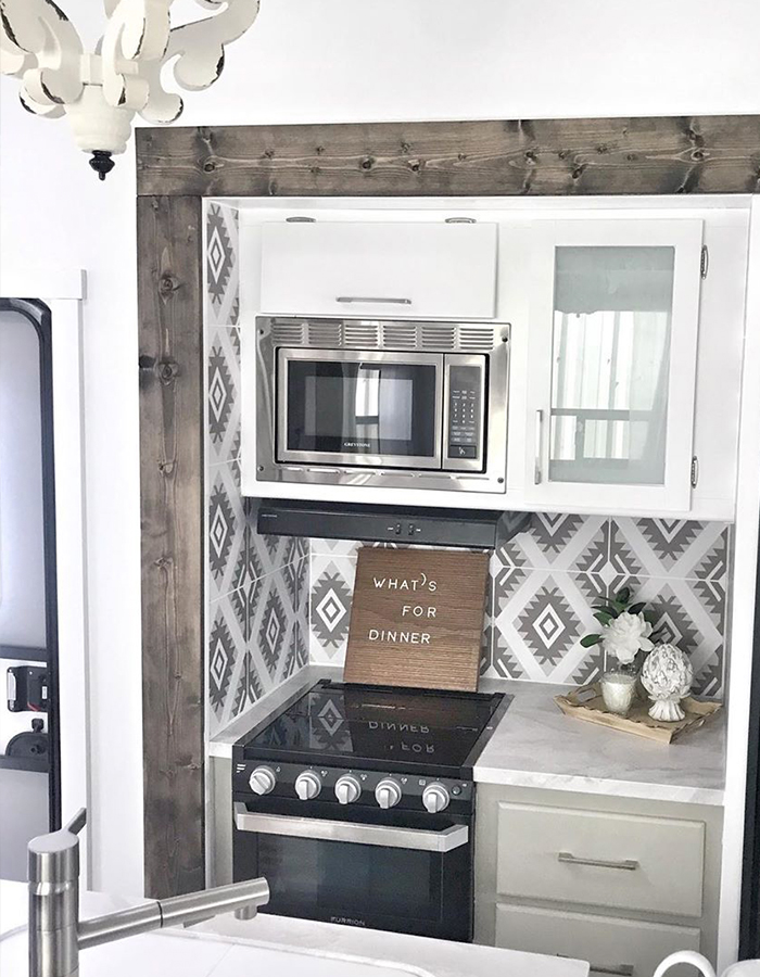 5th Wheel Kitchen Remodel