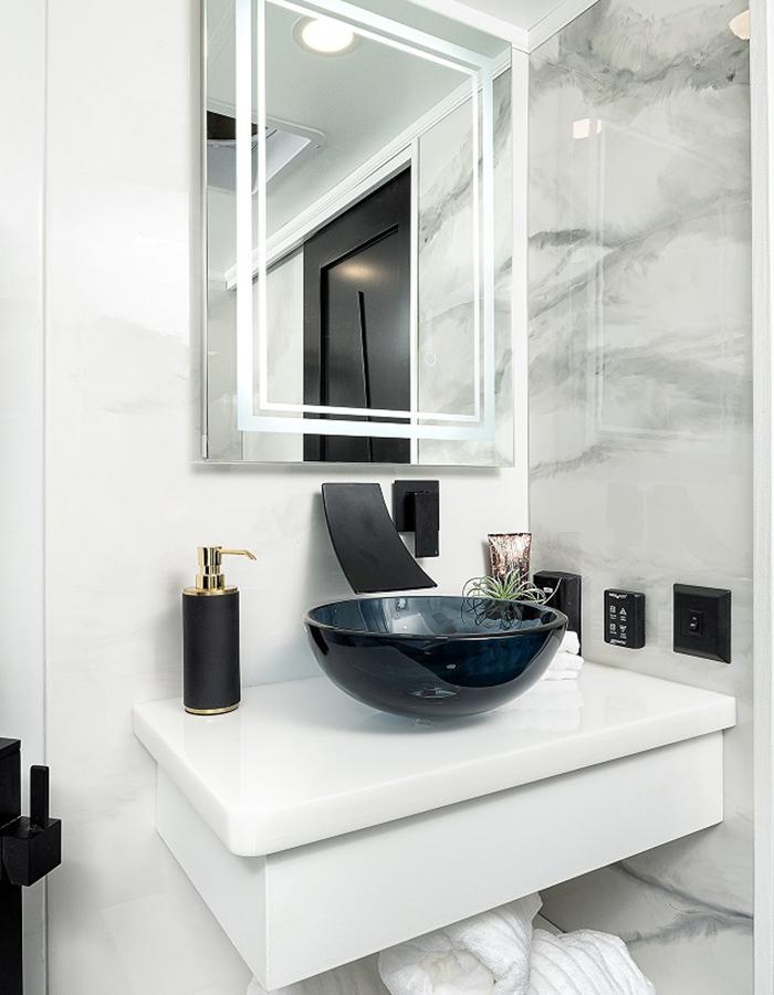 Ultimate Montana Concept RV Bathroom