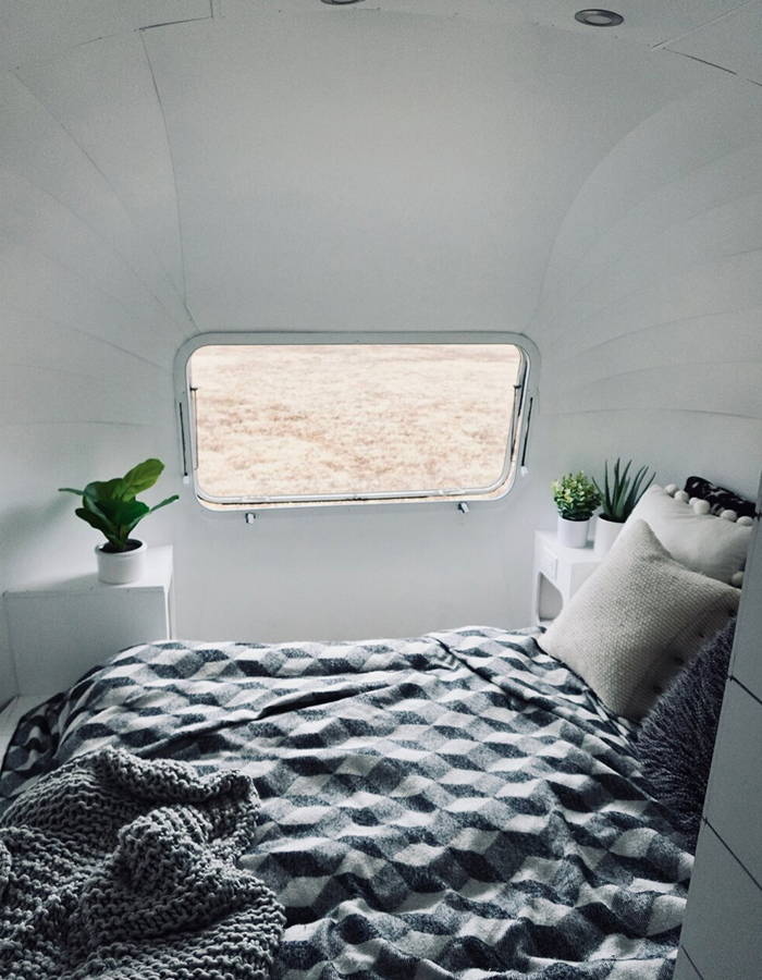 Airstream Bedroom Renovation