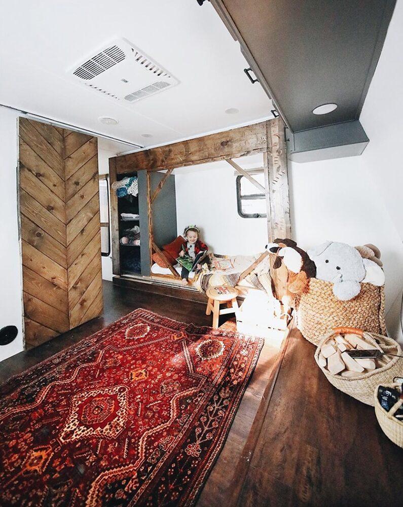 Kid's Bedroom in Toyhauler