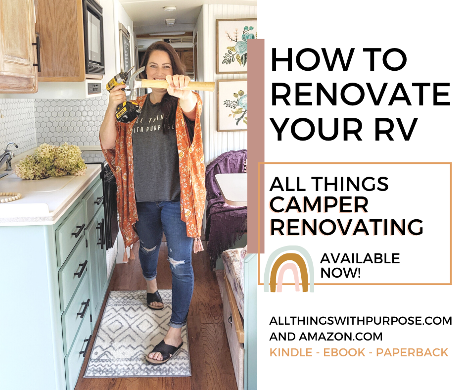 All Things Camper Renovating Book available as digital download or paperback