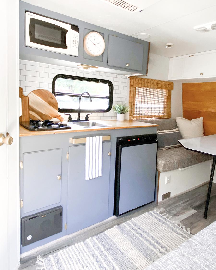 small camper renovation